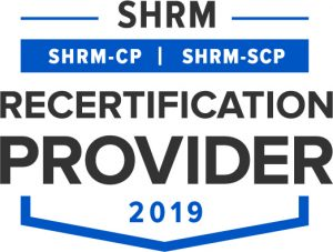 SHRM Recertification Provider Seal